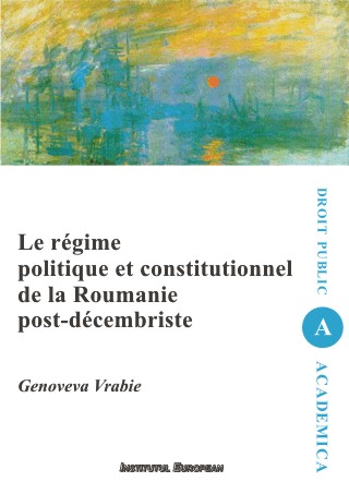 regime politique constitutionnel Roumanie post