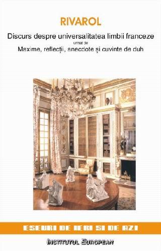 Discurs despre universalitatea limbii franceze