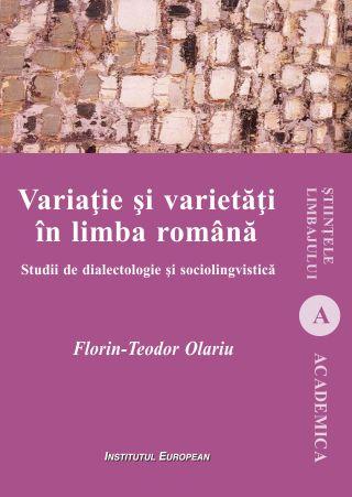 Variatie si varietati in limba romana