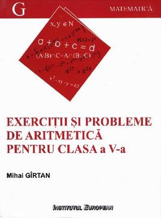 Exercitii si probleme de aritmetica pentru clasa a V-a