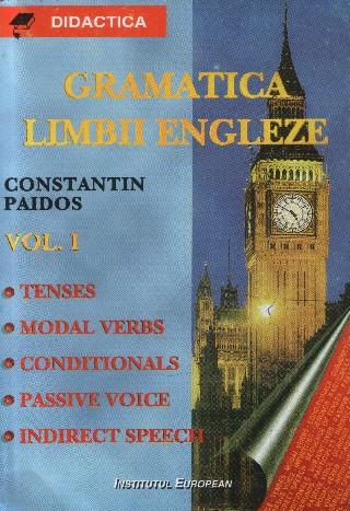 Gramatica limbii engleze (1) Verbul.