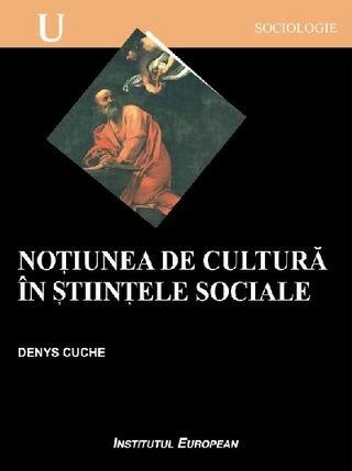 Notiunea de cultura in stiintele sociale