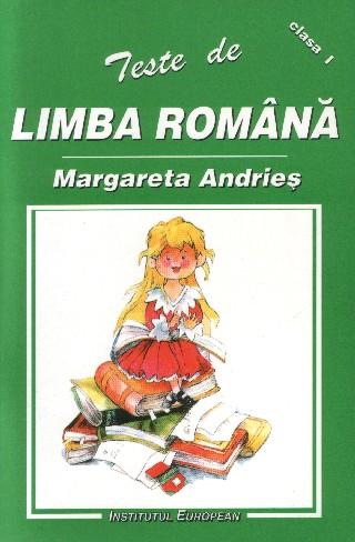 Teste de limba romana pentru clasa I