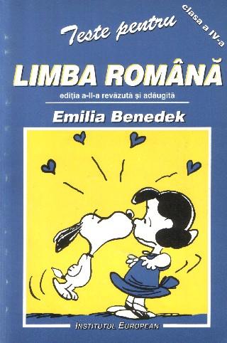 Teste pentru limba romana (ed a II-a revazuta si adaugita)