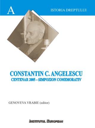 Constantin C.Angelescu - Centenar 2005 - Simpozion comemorativ