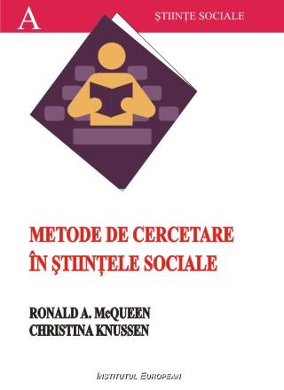 Metode de cercetare in stiintele sociale